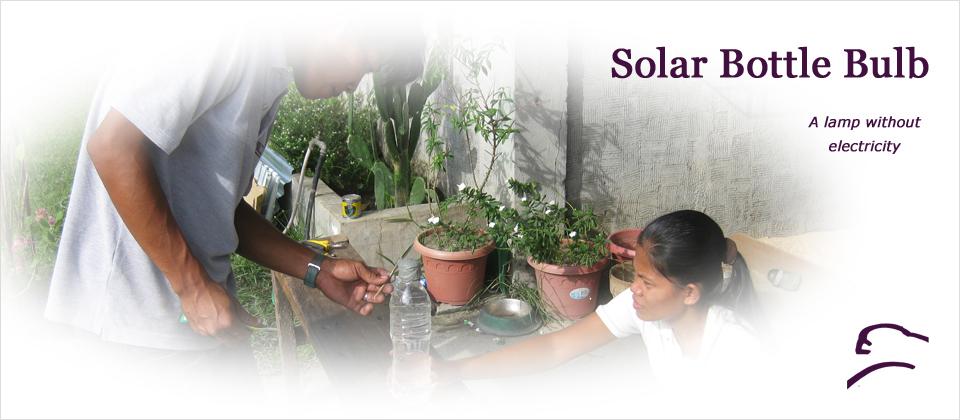 Solar Bottle Bulb Sparrow Foundation
