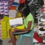 Buying shoes   Sparrow Foundation