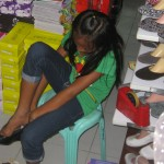 Fitting shoes   Sparrow Foundation