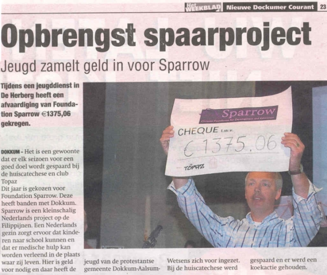 Article NDC - Sparrow Foundation
